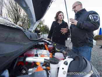 BCIT pilot program for electric-vehicle auto techs goes public