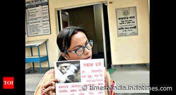 Teacher offers Rs 10k reward for missing cat