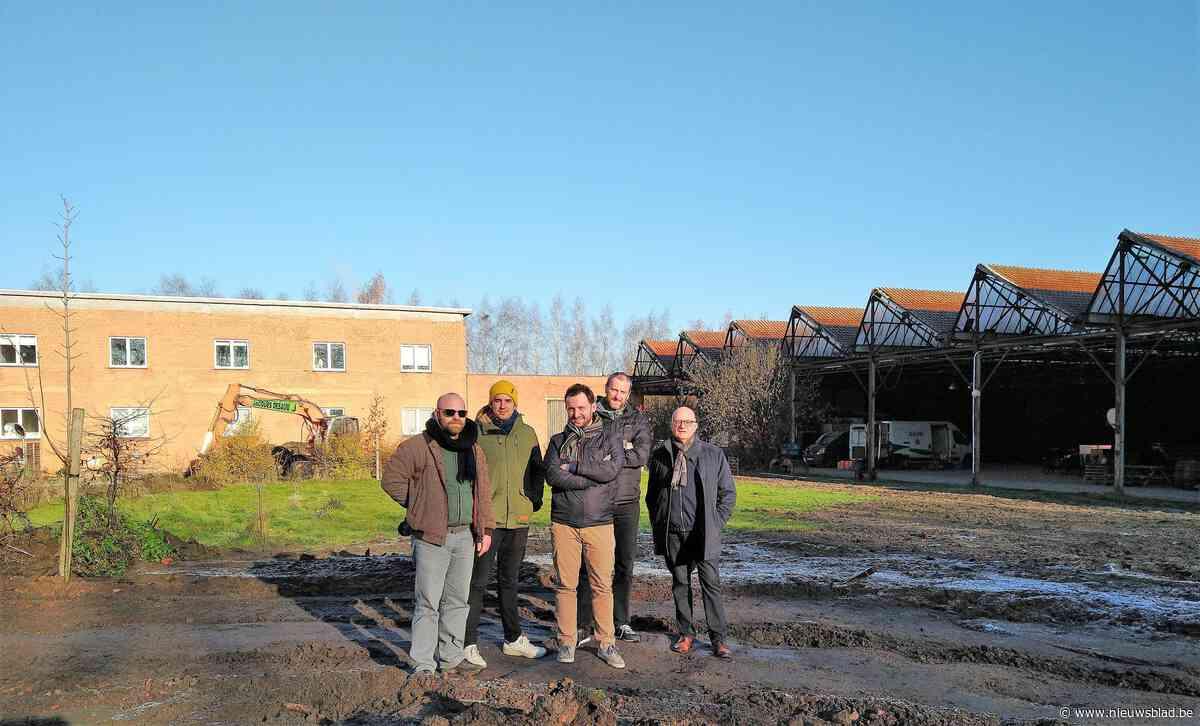 Braakliggend terrein wordt ecologische tuin