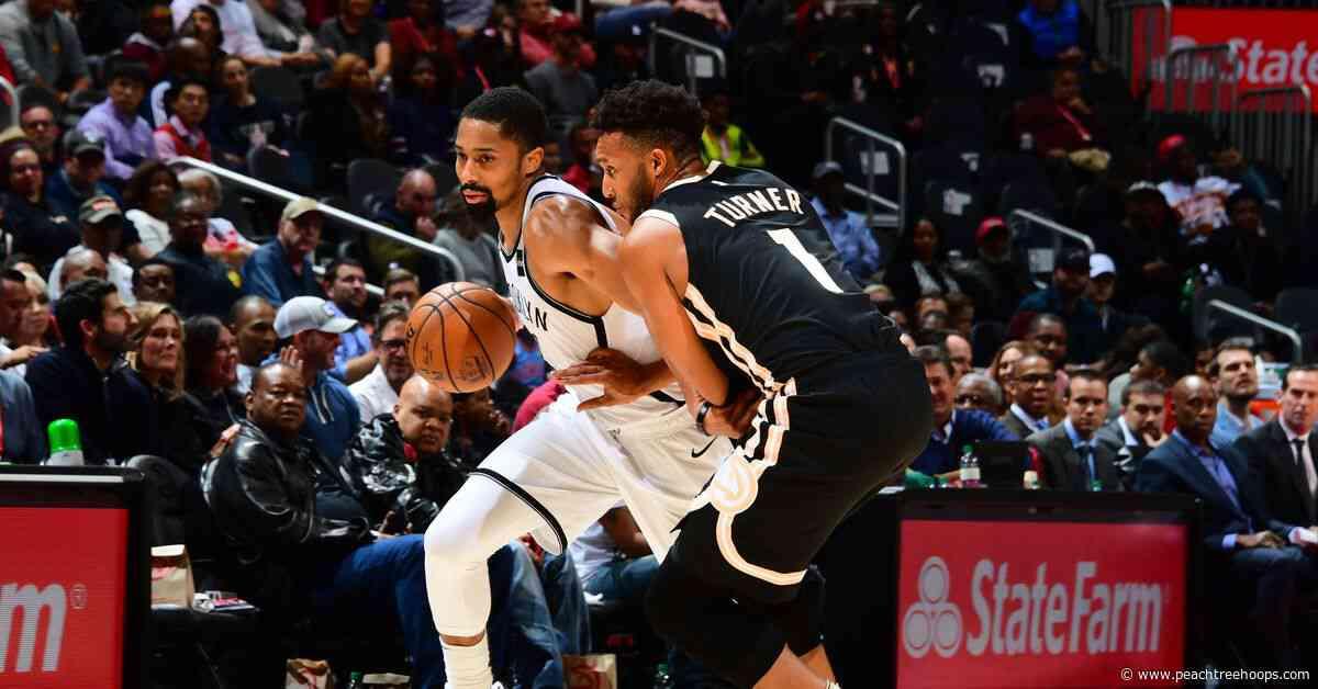 Defense, rebounding sink Hawks in 130-118 loss to Nets
