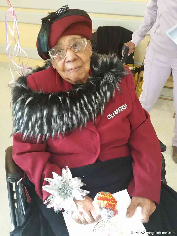 'Faith In God': Birmingham Woman Celebrates Her 110th
