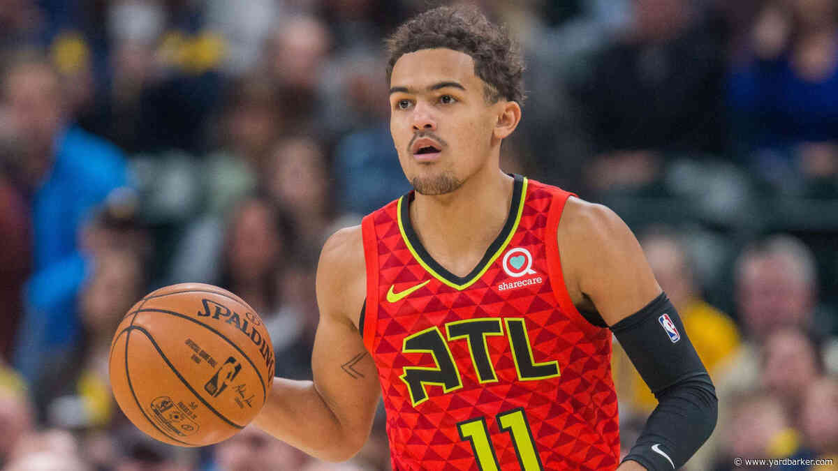 Watch: Trae Young stays hot, passes LeBron James in NBA record books