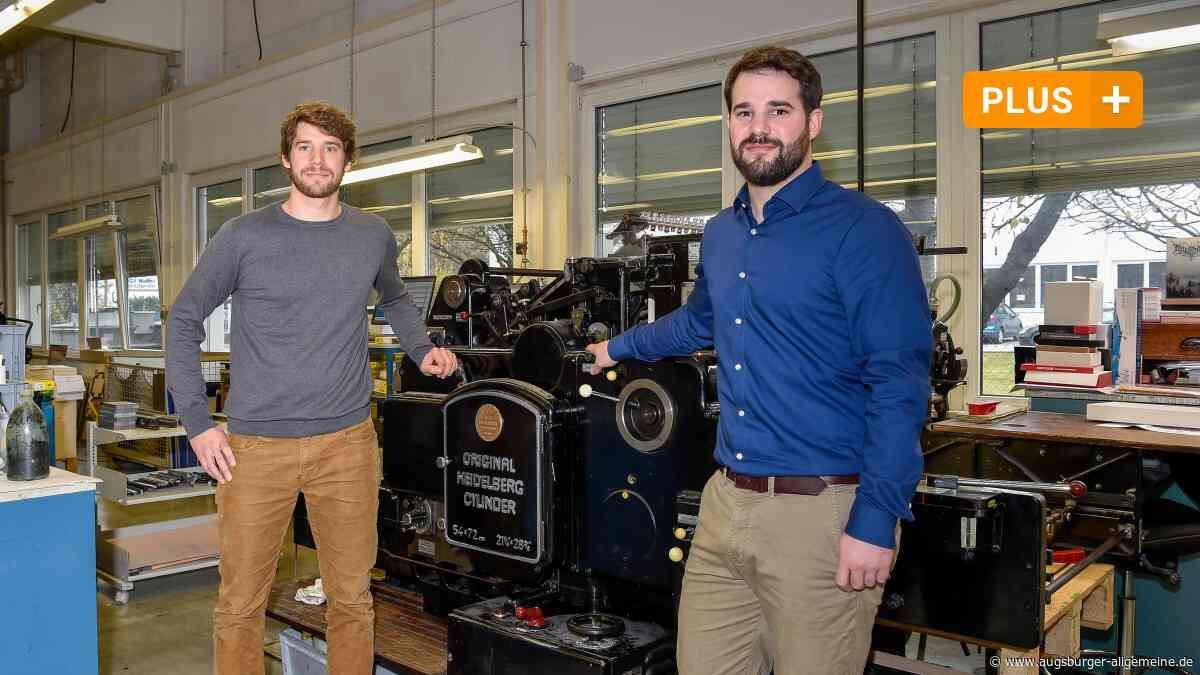 Wie eine Landsberger Druckerei den Stürmen der Branche trotzte