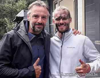 """Kanaalzwemmer Matthieu Bonne te zien in Kamp Waes: """"De combinatie met de voorbereiding voor het zwemmen was pure waanzin"""""""
