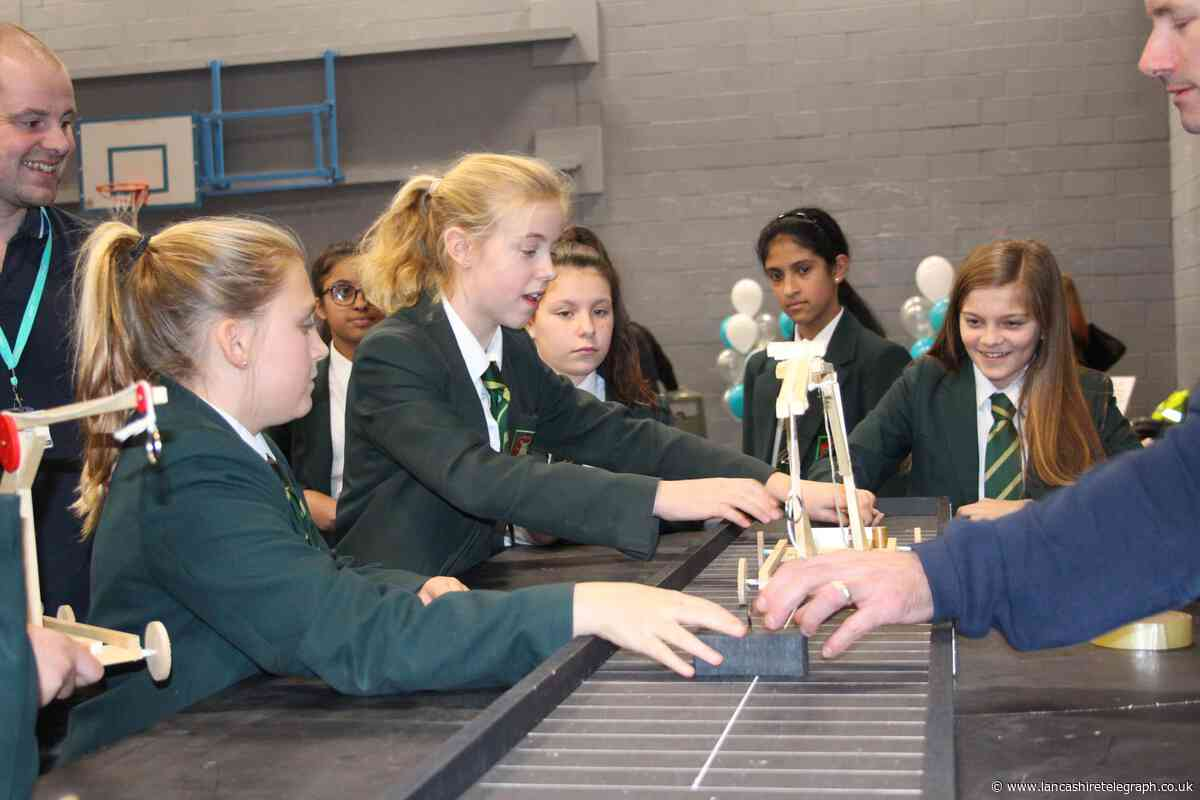 200 students enjoy engineering challenge at Nelson and Colne College