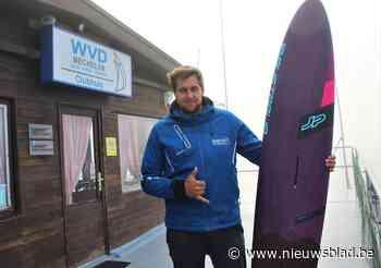Een windsurfland is België niet, maar Vincent (25) is wel maar mooi de snelste mens op een surfplank ooit