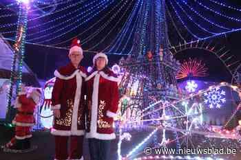 Dol op kerstmis? Dan moet u zeker eens naar Jempi's Kersthuisje waar u zelfs de Eiffeltoren kan bezoeken