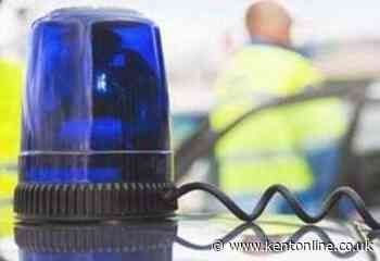Road closed as crash puts man in hospital