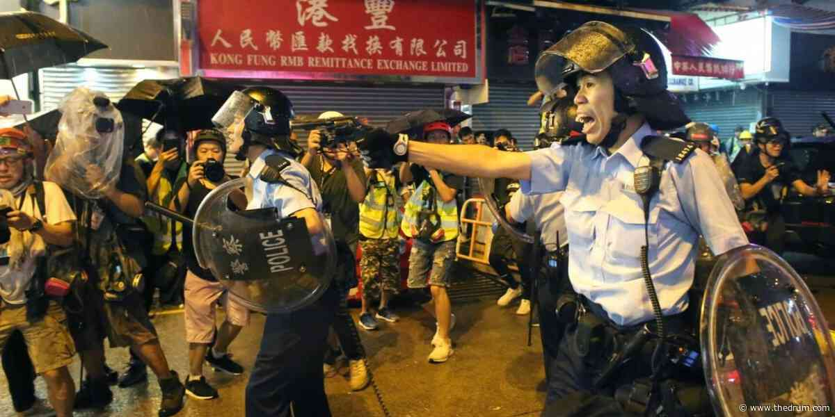 Facebook to try to protect children of Hong Kong police officers who have suffered cyberbullying