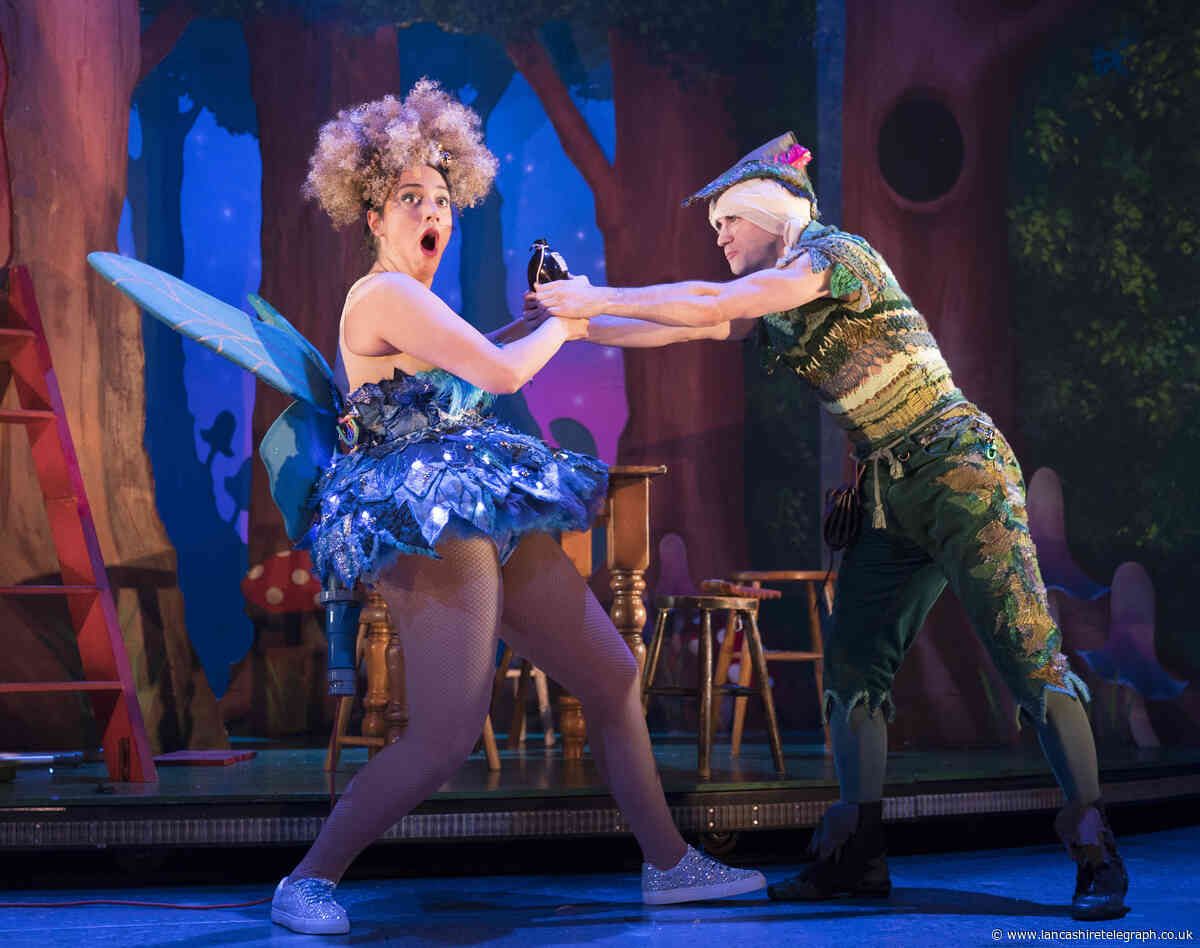 Peter Pan - the show that's all wrong on the night at Lowry
