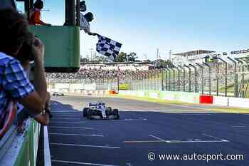 Physical chequered flag will end F1 grands prix again from 2020