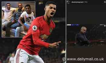 Marcus Rashford's brother aims jibe at Jose Mourinho after striker fires Manchester United to win