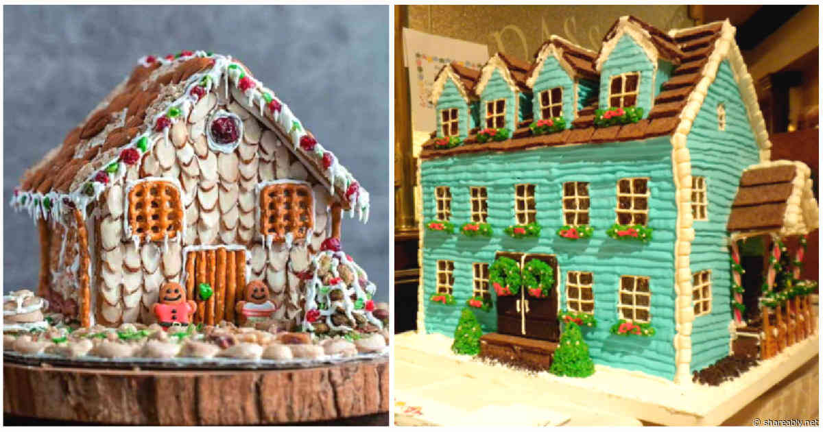 65 people that took their gingerbread houses to the next level