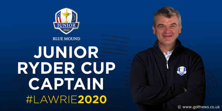 Lawrie to captain European Junior Ryder Cup team