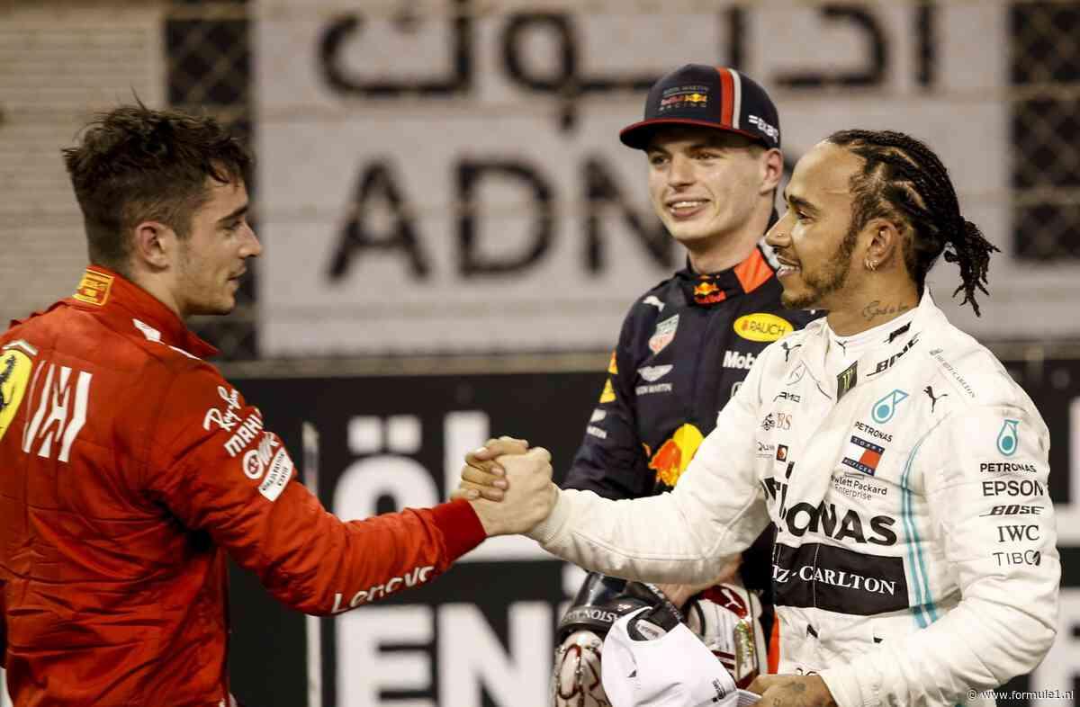 Webber: 'Verheug me voor 2020 op strijd tussen Hamilton, Verstappen en Leclerc'
