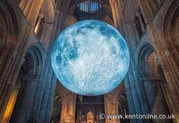 """Awe-inspiring"" moon exhibition at cathedral"