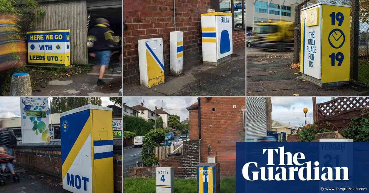 The Leeds United fan making the city beautiful – one electric box at a time