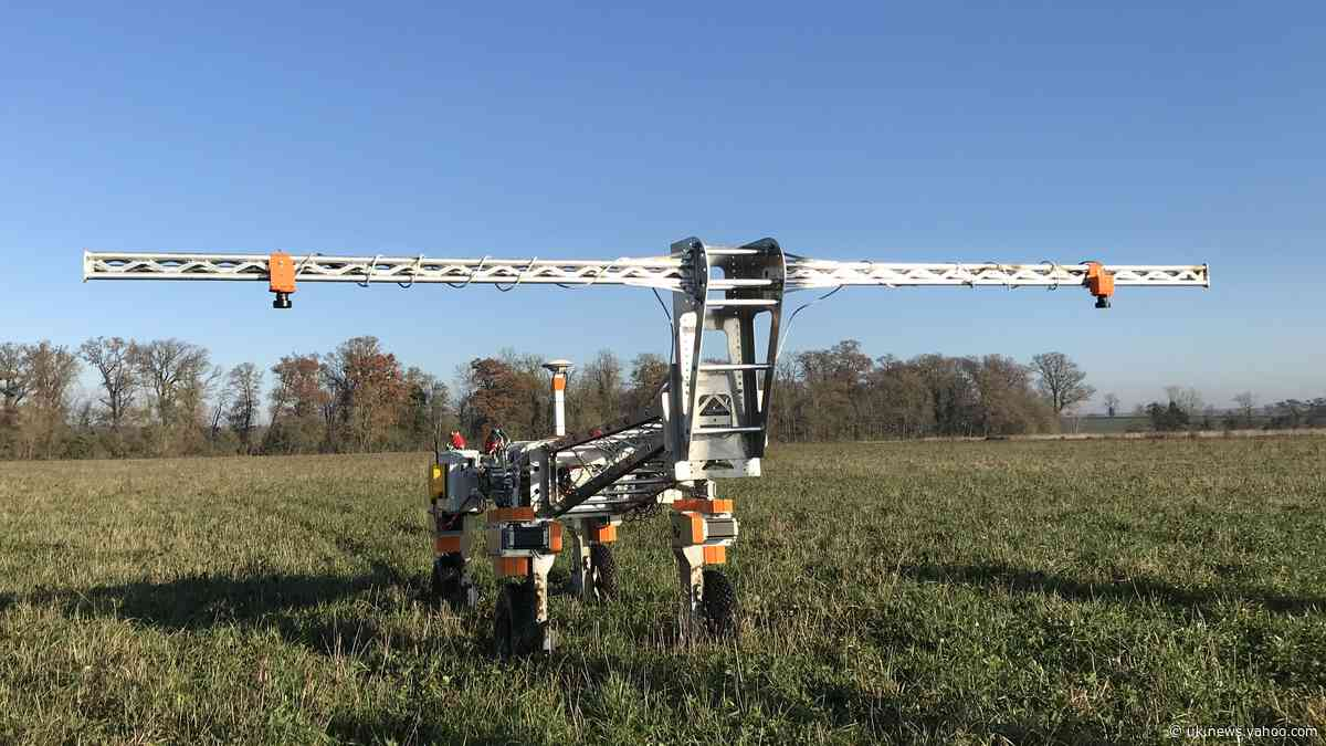 Meet the robot that maps weeds on farm for National Trust