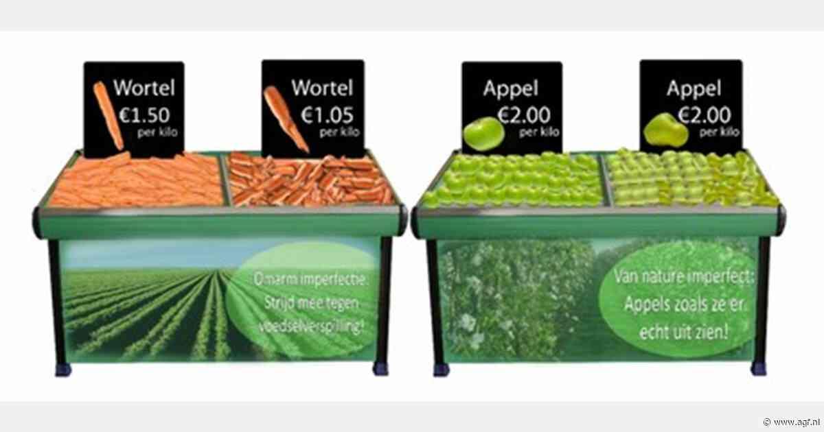 Positionering werkt bij verkoop afwijkende groenten en fruit