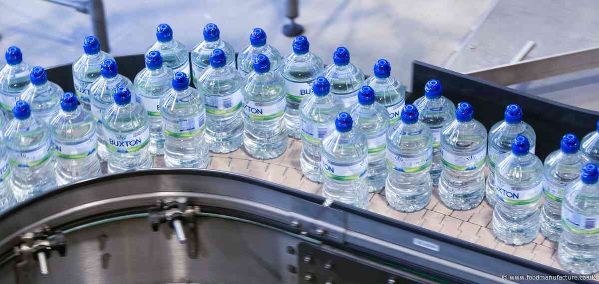 Buxton bottles to contain 100% recycled plastic