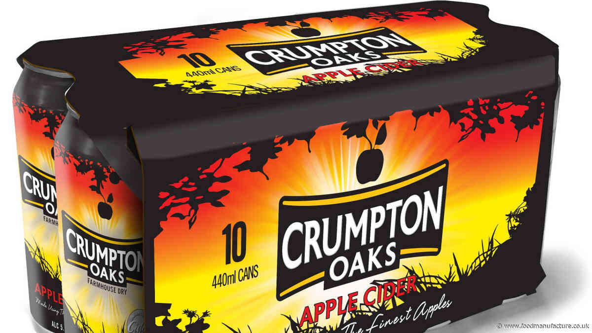 Cider-maker switches to cardboard packaging
