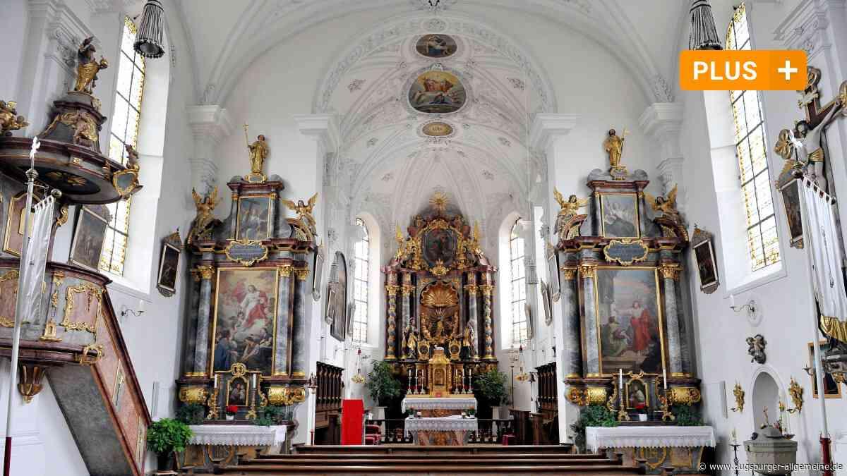 Putz bröckelt: Die Kinsauer Pfarrkirche ist gesperrt