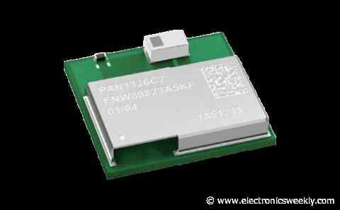 Panasonic Bluetooth HCI module available at Rutronik UK