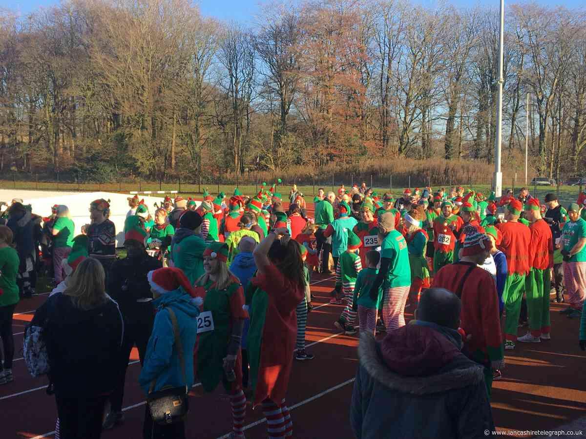 400 gather for Witton Park Mental Elf run