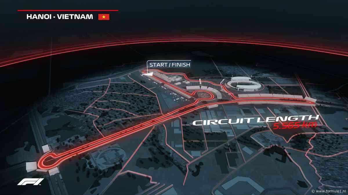 Organisatie GP Vietnam voegt extra bocht toe aan Hanoi Street Circuit