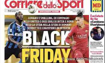 Corriere dello Sport refuse to apologise for their 'Black Friday' front page