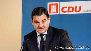 Bürgerschaft: Weinberg: CDU würde von GroKo-Aus profitieren