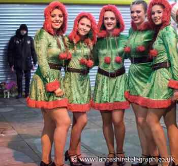 Festive fun for 5,000 in Colne town centre