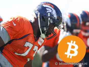 Bitcoin betaalprovider BTCPay op schoenen van NFL-speler