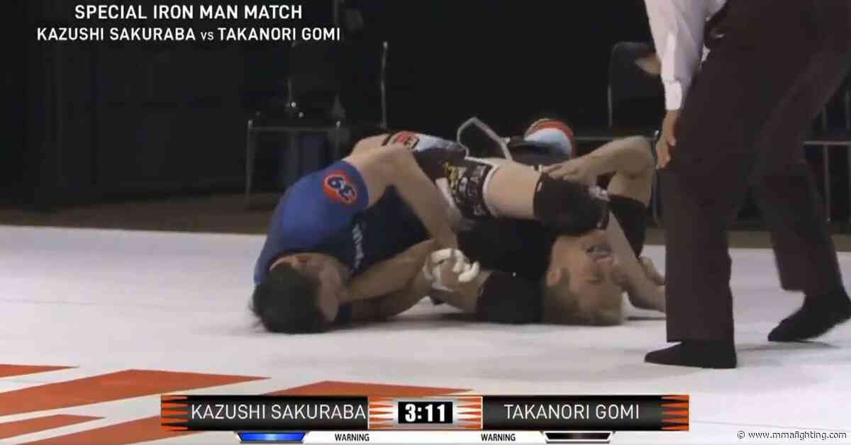 Missed Fists: Kazushi Sakuraba and Takanori Gomi trade submissions, MMA show ends in back-to-back Von Flues, more