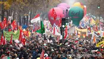 Landesweiter Generalstreik: Stillstand in Frankreich