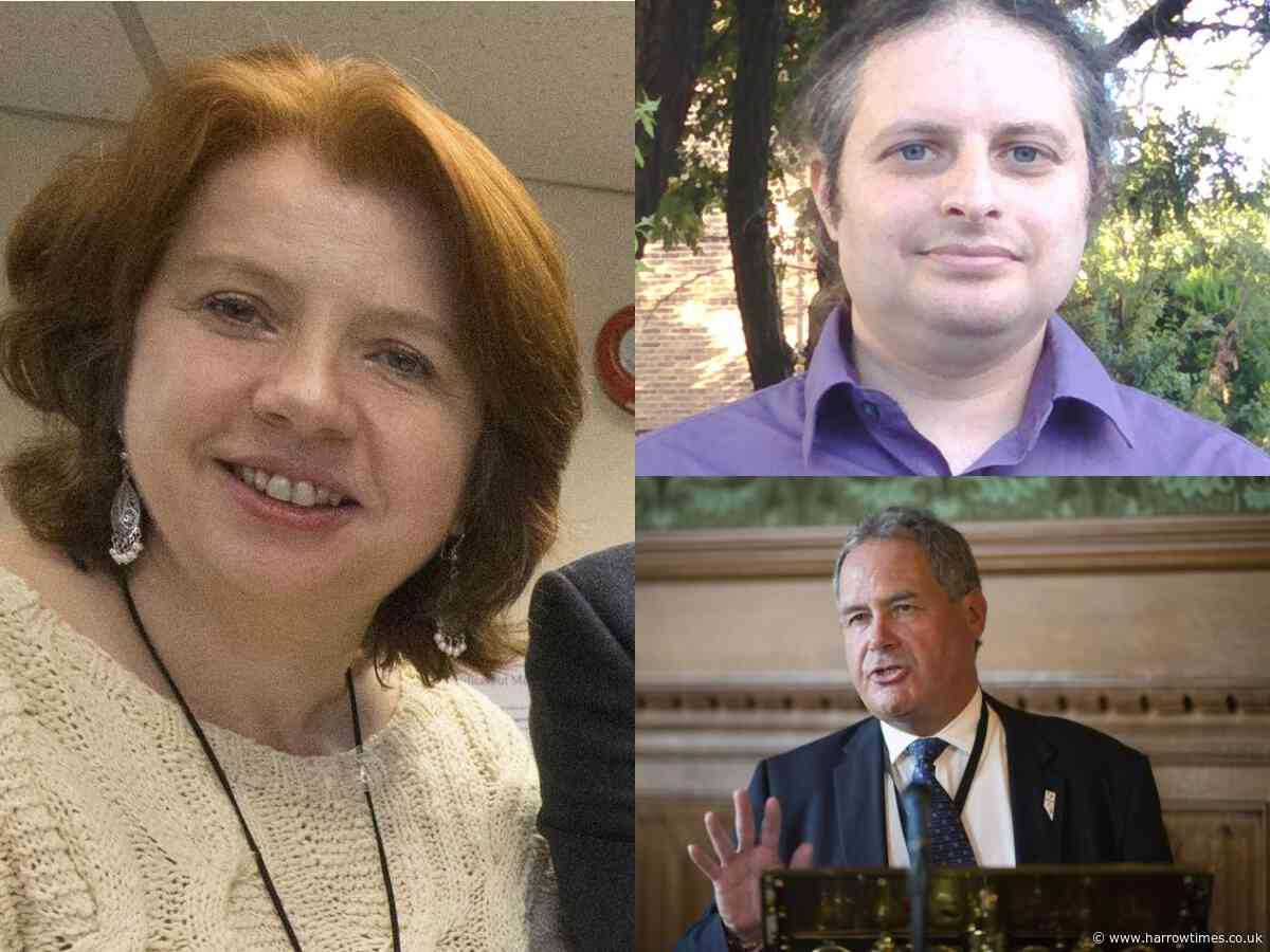Harrow East candidates at Stanmore and Canons Park Synagogue hustings