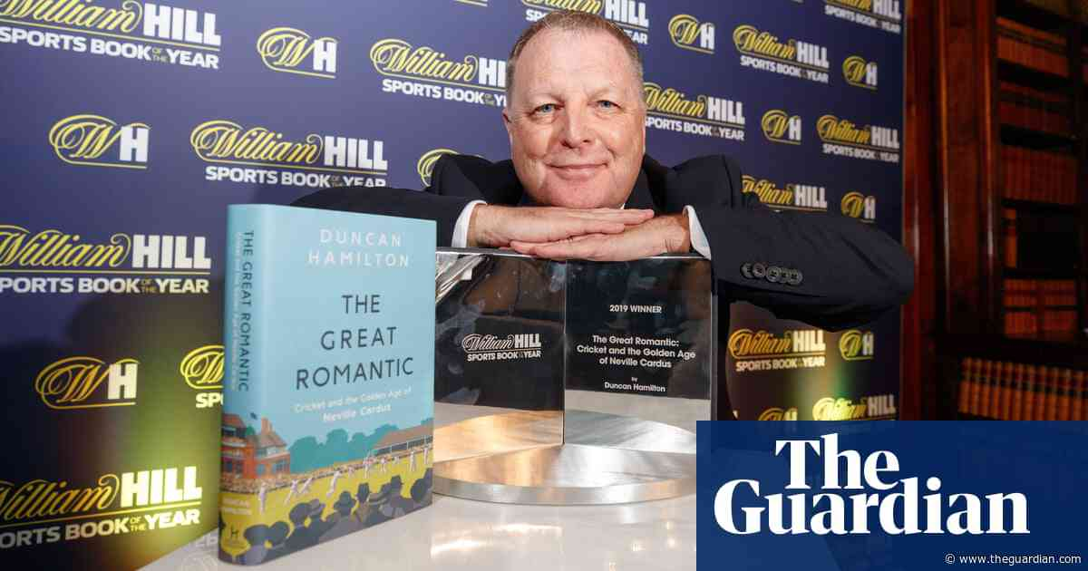 Duncan Hamilton wins William Hill Sports Book of the Year for third time