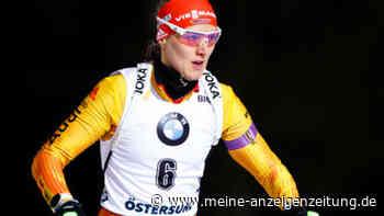 Biathlon im Liveticker: Deutsche Damen wollen erstes Podest im Einzel