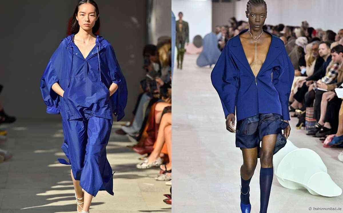 Auf den Catwalks gesichtet: Die Farbe des Jahres 2020 Classic Blue