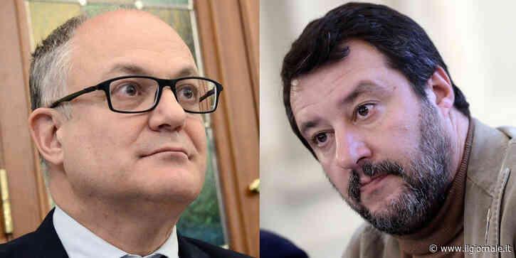 """""""La Lega è nemica dell'Italia"""". Lite di fuoco Salvini- Gualtieri"""