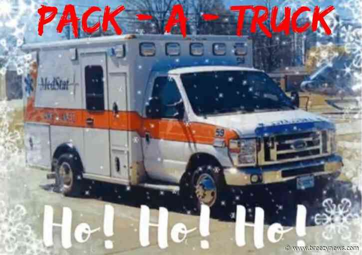 """Happening today: MedStat """"Pack-a-Truck"""" toy drive"""