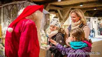 Strammes Besuchsprogramm: Der Nikolaus hat viele Termine