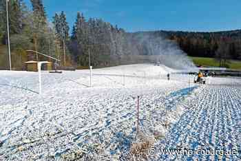 In Neukirchen schneit's schon