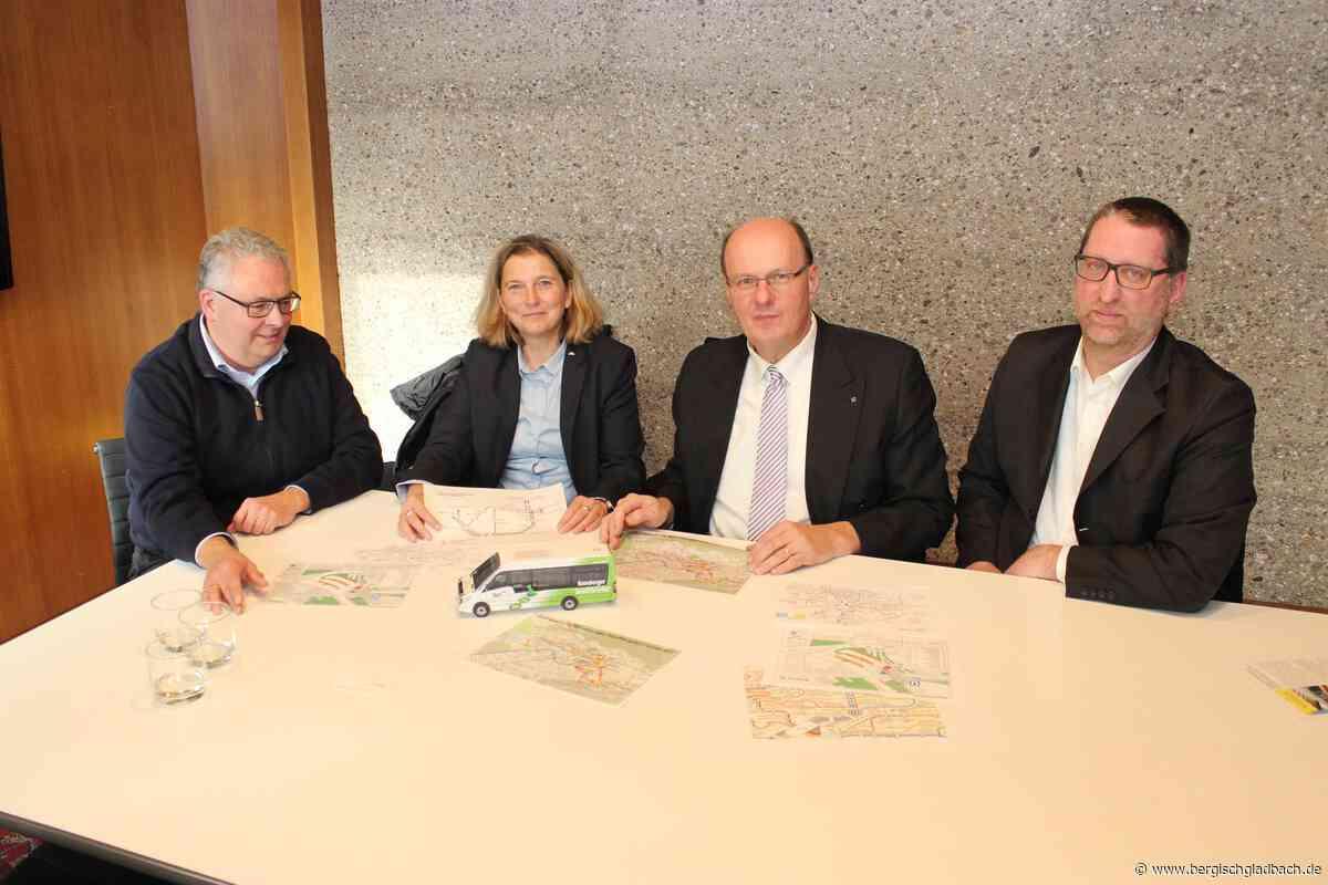 Pünktlich zum Fahrplanwechsel im Dezember: Stadtverkehrsgesellschaft Bergisch Gladbach verteilt Stadtfahrplan 2020