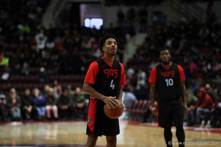 Raptors 905 Look to Bounce Back After Loss to Delaware