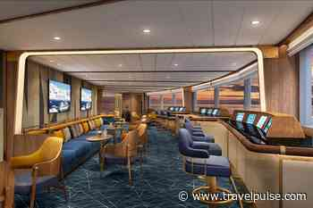 "Seabourn Reveals Unique ""Bow Lounge"" on Seabourn Venture"