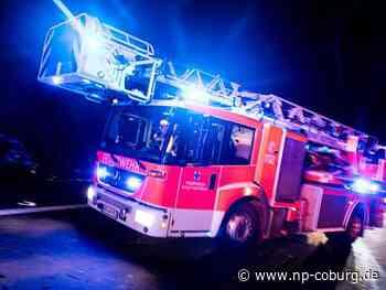 Anwohner eilen zur Hilfe: Scheunenbrand in Neuensorg