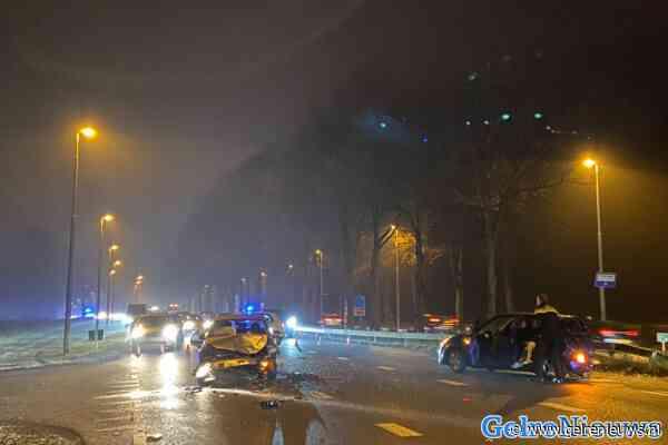 Verkeerschaos rondom Arnhem door ongevallen