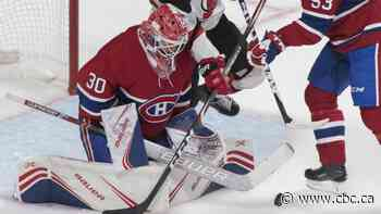 Habs goalie Cayden Primeau making 1st NHL start against Avalanche