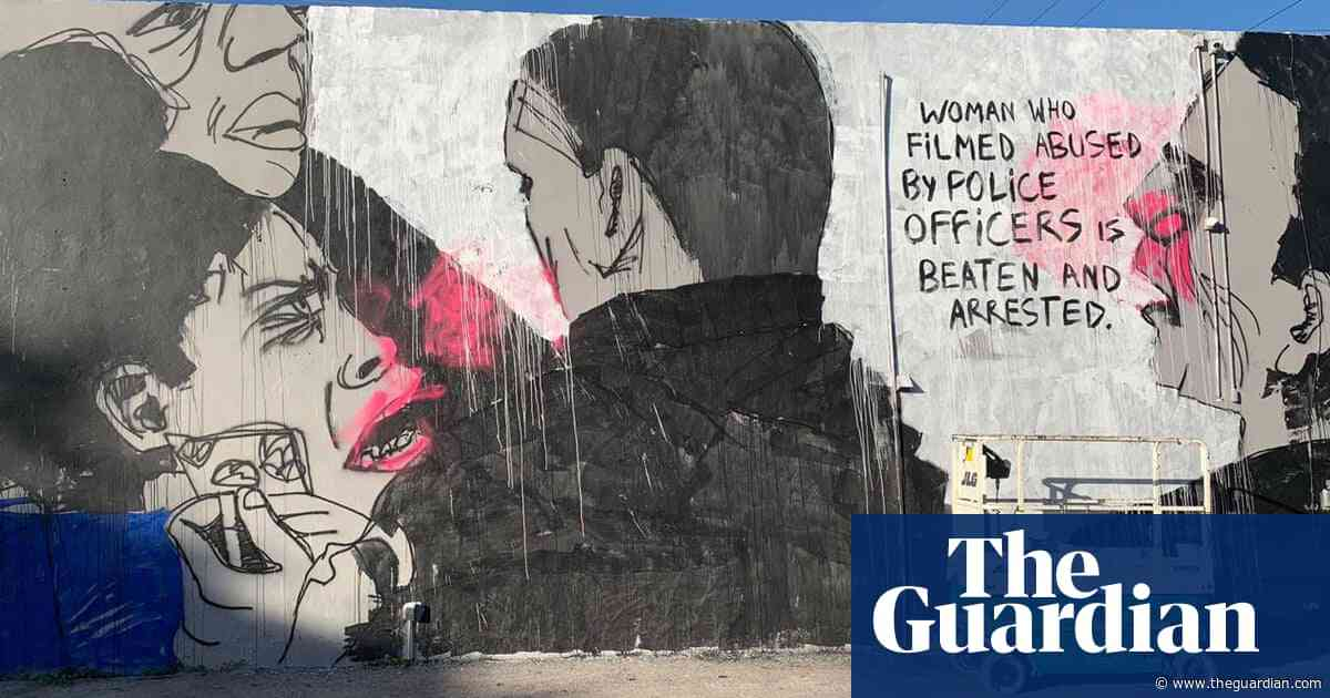Miami mural of Rio police abuse painted over after officers complain